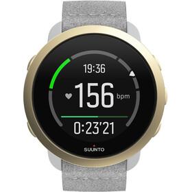 Suunto 3 Sport Watch, pebble white light grey
